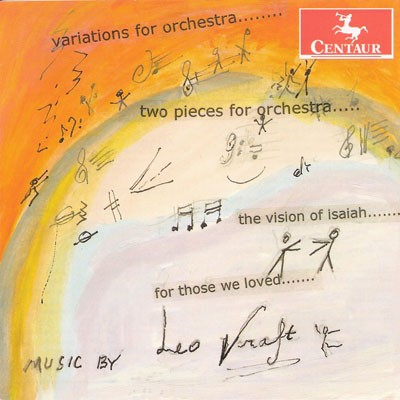 CRC 3197 Leo Kraft:  Variations for Orchestra