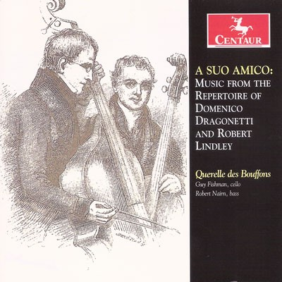 CRC 3233 A Suo Amico:  Music from the Repertoire of Domenico Dragonetti and Robert Lindley.  Arcangelo Corelli:  Sonata for violin & basso continuo in A, Op. 5, No. 9