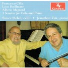 CRC 3337 Francesco Cilea, Leon Boellmann and Alberic Magnard:  3 Sonatas for Cello and Piano