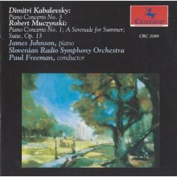 CRC 2089 Kabalevsky: Piano Concerto No. 3