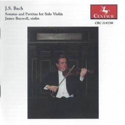 CRC 2147/2148 J.S. Bach:  Sonatas and Partitas for Solo Violin, BWV 1001-1006