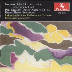 CRC 2356 Ernest Bloch:  Evocations