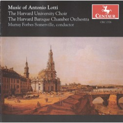 CRC 2376 Music of Antonio Lotti:  Mass for Three Choirs