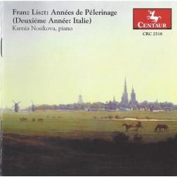 CRC 2518 Franz Liszt: Annees de Pelerinage (Duxieme Annee:  Italie).  Sposalizio