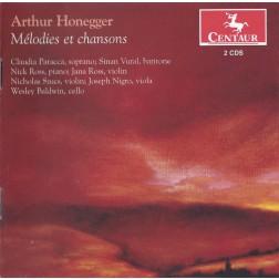 CRC 3151/3152 Arthur Honegger:  Melodies et chansons.  Claudia Patacca, soprano