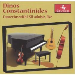 CRC 3258 Dinos Constantinides: Concertos with LSU Soloists, Live