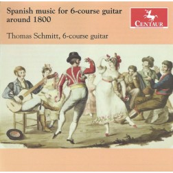 CRC 3277 Spanish Music for 6-course Guitar Around 1800