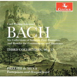 CRC 3333: C.P.E. Bach:  Six Collections of Keyboard Sonatas and Free