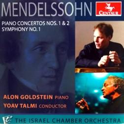 CRC 3334 Mendelssohn: Piano Concertos Nos. 1 & 2, Symphony No. 1