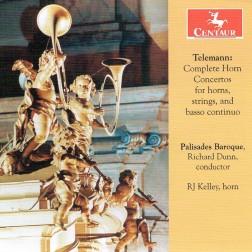 CRC 3380 Georg Philipp Telemann:  Complete Horn Concertos