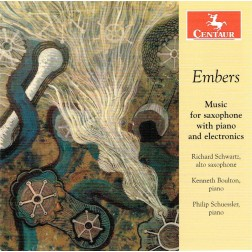 CRC 3385: Embers:  Music for saxophone with piano and