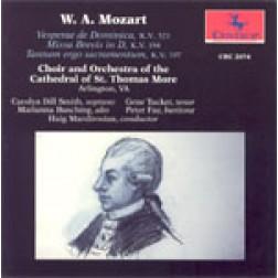 CRC 2074 Mozart: Veperae Solemnes de Dominica, K. 321
