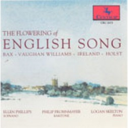 CRC 2075 The Flowering of English Song: Songs and Duets by Balfe, Bax, Besly, Bridge, German, Holst, Ireland, Vaughan Williams, Somerville