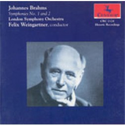 CRC 2124 Brahms: Symphonies Nos. 1 and 2