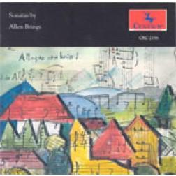 CRC 2156 Sonatas by Allen Brings: Sonata for Clarinet and Piano