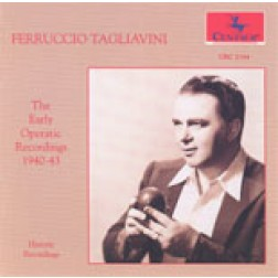 CRC 2164 Ferruccio Tagliavini: The Early Operatic Recordings 1940-43.