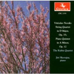CRC 2191 Vitezslav Novak:  String Quartet in D Major, Op. 35