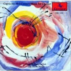 CRC 2201 Capriccio:  Mid-Century Music for Clarinet