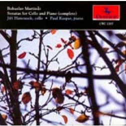 CRC 2207 Bosuslav Martinü: Sonatas for Cello and Piano (complete)