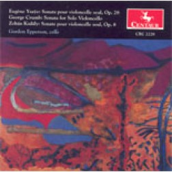 CRC 2228 Works by Eugene Ysaye, George Crumb, and Zoltan Kodaly