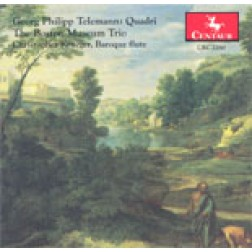 CRC 2260 Georg Philipp Telemann:  Quadri Flute Quartets in G Major, D Major, A Major, e minor, g minor, and b minor