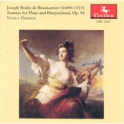 CRC 2265 Joseph Bodin de Boismortier:  Sonatas for Flute and Harpsichord, Op. 91