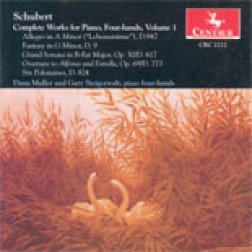 CRC 2272 Schubert:  Complete Works for Piano, Four-hands, Volume 1