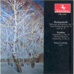 CRC 2287 Rachmaninoff:  Morceaux de Fantaisie, Op. 3