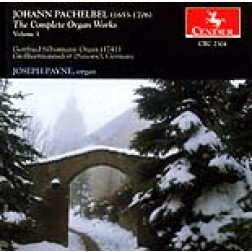 CRC 2304 Johann Pachelbel: The Complete Organ Works, Volume 1