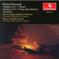 "CRC 2333 Richard Honoroff:  Symphony No. 1 ""Shoah"