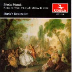 CRC 2334 Marin Marais:  Suites en Trio:  Pièces de Violes, 4e Livre