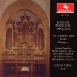 CRC 2352 Johann Pachelbel:  The Complete Organ Works, Vol. 4