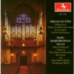 CRC 2368 Organ Suites:  Arthur Foote:  Suite in D, Op. 54