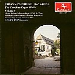 CRC 2383 Johann Pachelbel:  Complete Organ Works, Volume 6