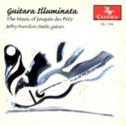 CRC 2384 Guitarra Illiminata:  The Music of Josquin de Préz.  Missa Pange Lingua