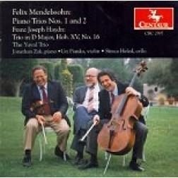 CRC 2397 Felix Mendelssohn:  Piano Trios Nos. 1 and 2