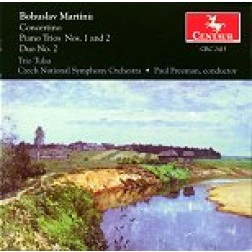 CRC 2415 Bohuslav Martinu: Concertino for Piano Trio and String Orchestra