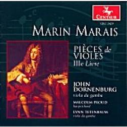 CRC 2429 Marin Marais: Pieces de violes, IIIe Livre