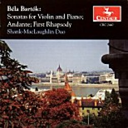 CRC 2440 Bela Bartok: Sonatas for Violin and Piano, Nos. 1 and 2