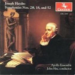 CRC 2447 Franz Joseph Haydn: Symphonies Nos. 28, 18, and 52