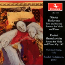 CRC 2450 Nikolai Roslavets: First and Second Sonatas for Viola and Piano