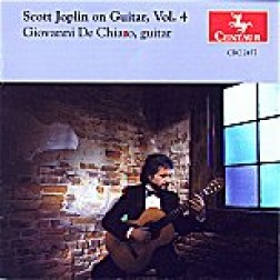 CRC 2457 Scott Joplin on Guitar, Vol. 4.  Rosebud March