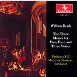 CRC 2471 William Byrd: The Three Masses for Five, Four, and Three Voices