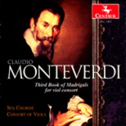 CRC 2482 Claudio Monteverdi: Third Book of Madrigals for viol consort