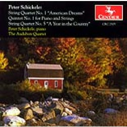 "CRC 2505 Peter Schickele: String Quartet No. 1 ""American Dreams"