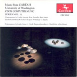 CRC 2512 CDCM Computer Music Series, Vol. 31.  Music from CARTAH, University of Washington. Bret Battey: Pater Nosters Tricyclic Companion