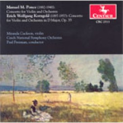 CRC 2513 Manuel M. Ponce: Concerto for Violin and Orchestra