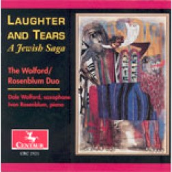 "CRC 2521 ""Laughter and Tears: A Jewish Saga;"" Four Hebraic Pictures in the Klezmer Tradition (arr. Simeon Bellison)"