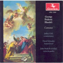CRC 2540 George Frideric Handel: Cantatas: Son gelsomino