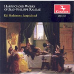 CRC 2579 Harpsichord Works of Jean-Philippe Rameau.
